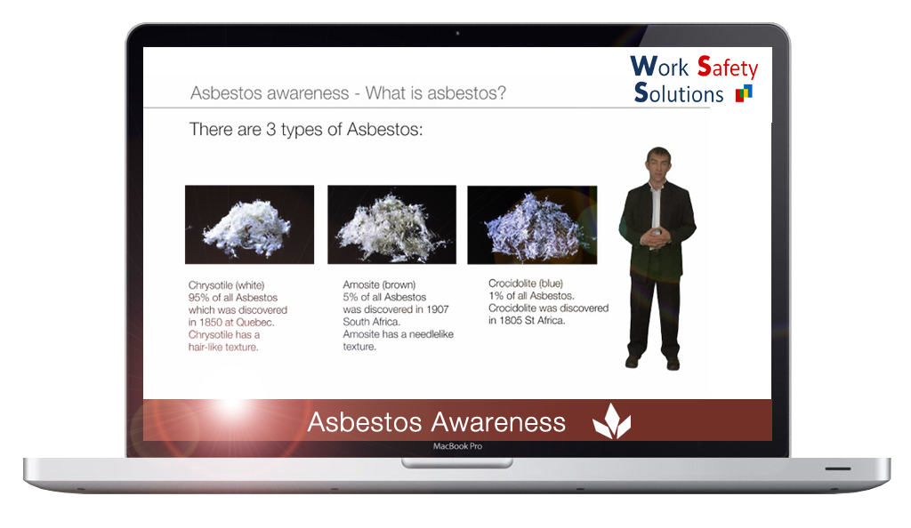 work safety solutions Asbestos screen