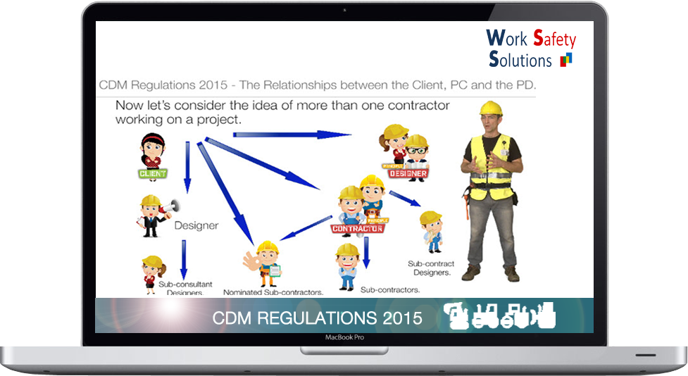 work safety solutions CDM Regs Screenshot New