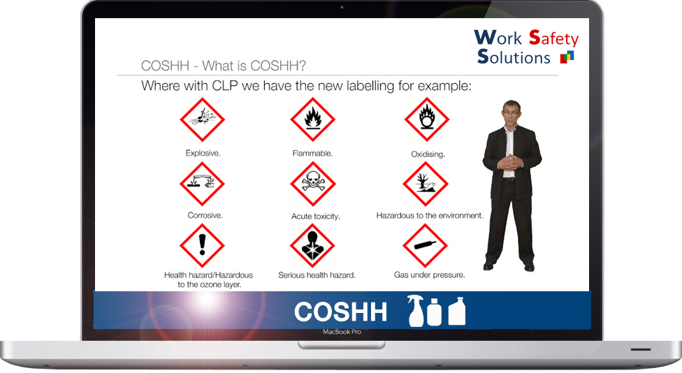 work safety solutions COSHH Screenshot