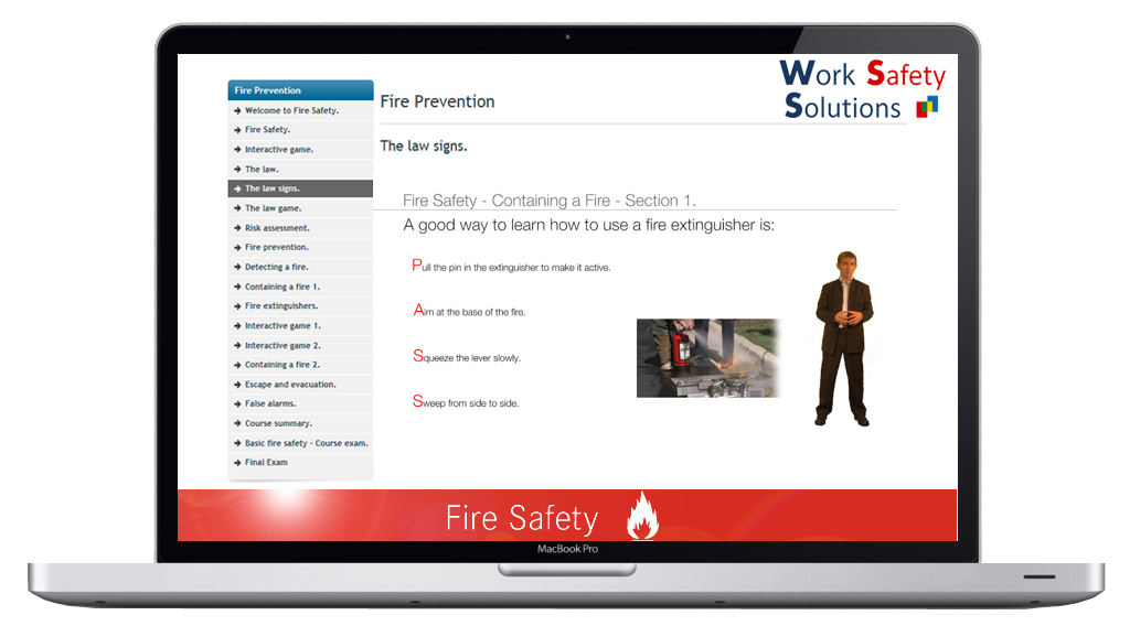 work safety solutions FIRE SAFETY