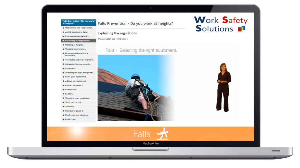 work safety solutions Falls prevention