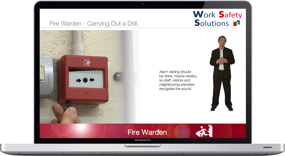 work safety solutions Fire Warden Screen Shot New