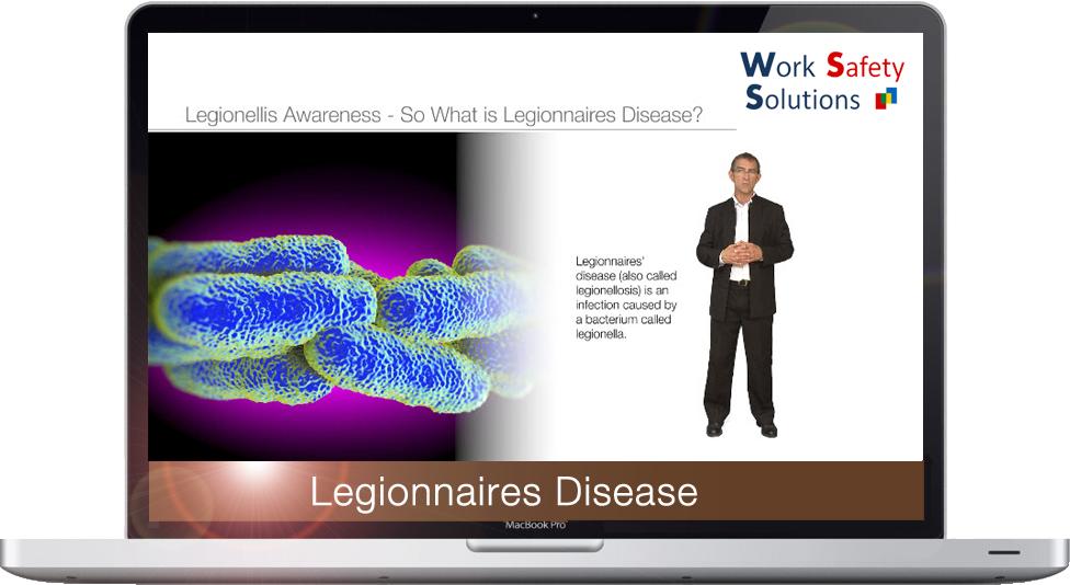 work safety solutions Legionnaires Screenshot