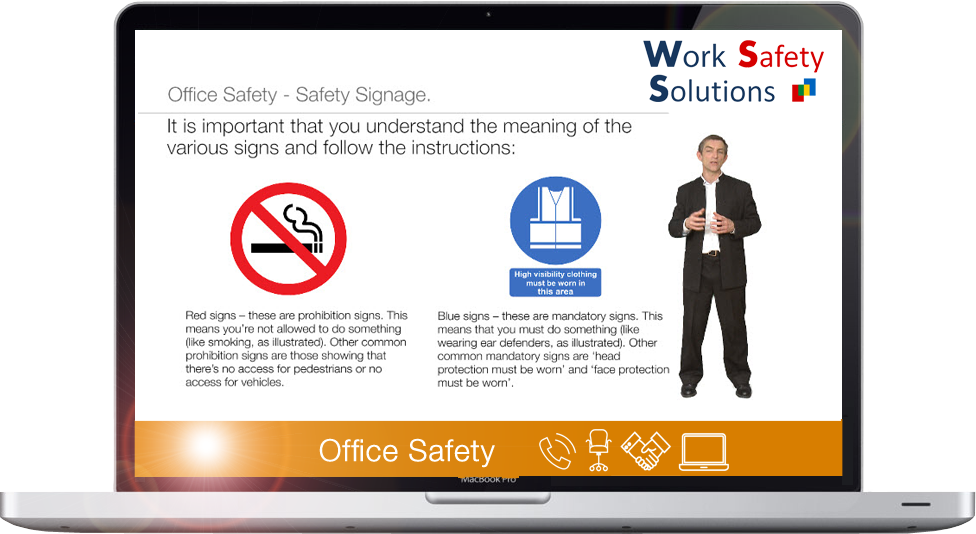 work safety solutions OFFICE SAFETY Screenshot
