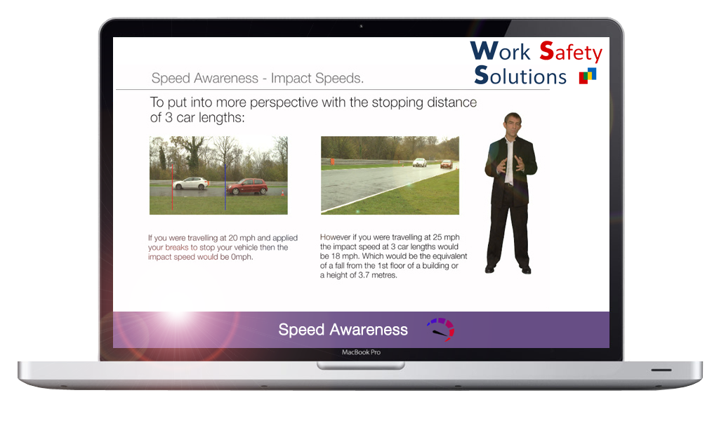 work safety solutions Speed awareness screen