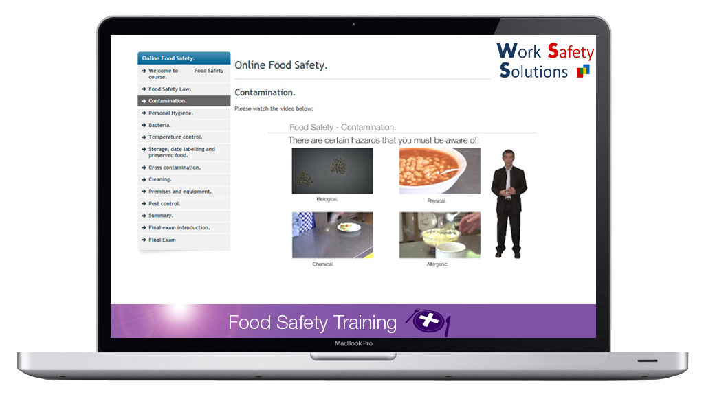 work safety solutions food safety