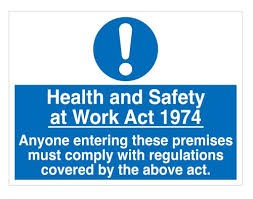 Health and Safety at work act